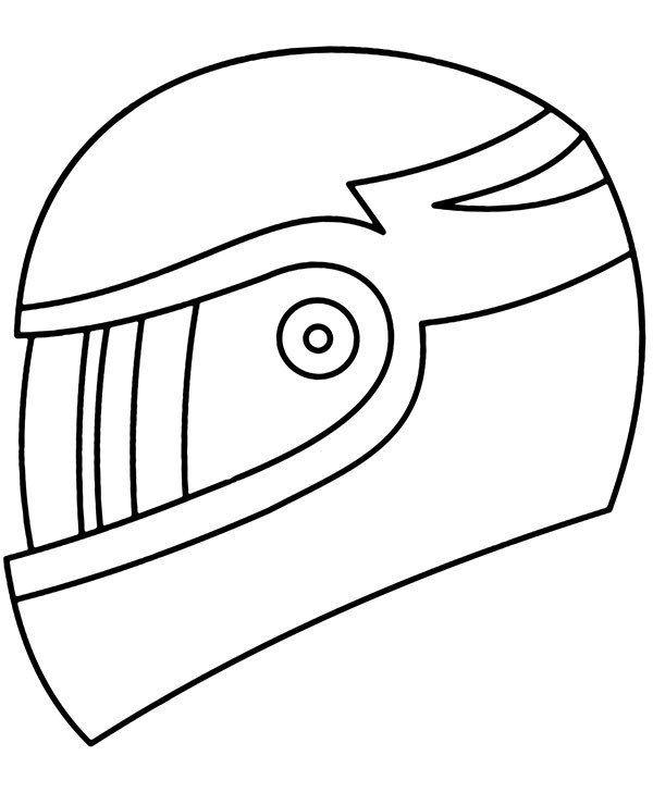 Dirt Bike Helmet Coloring Page Helmet Drawing Coloring Pages Bike Drawing