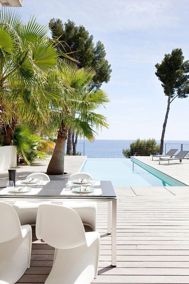 "A little ""dining Alfresco"" anyone? .............................      Villa C1 by Frederique Pyra   HomeAdore"