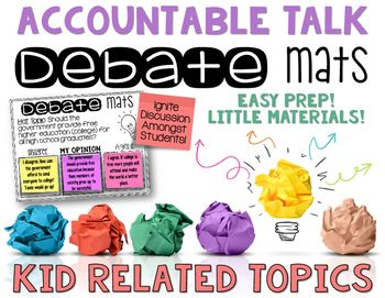Looking to ignite authentic accountable talk in your classroom? Accountable Talk…