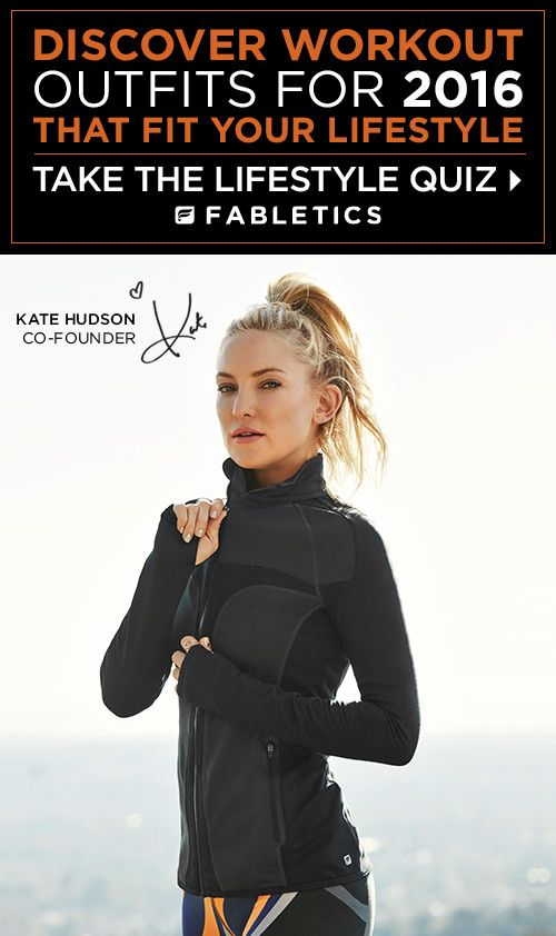 FABLETICS BY KATE HUDSON GET FIT FOR SUMMER EXCLUSIVE VIP OFFER - GET YOUR FIRST OUTFIT FOR $25 ! Limited Time Only, Offer ends 6/30/2016.  As a VIP, you'll enjoy a new boutique of personalized styles each month, as well as exclusive pricing, early access to sales & free shipping on orders over $49. Don't think you'll need something new every month? No problem – click 'Skip The Month' in your account by the 5th and you won't be charged. Discover Workout Outfits for 2016 that is Curated for…