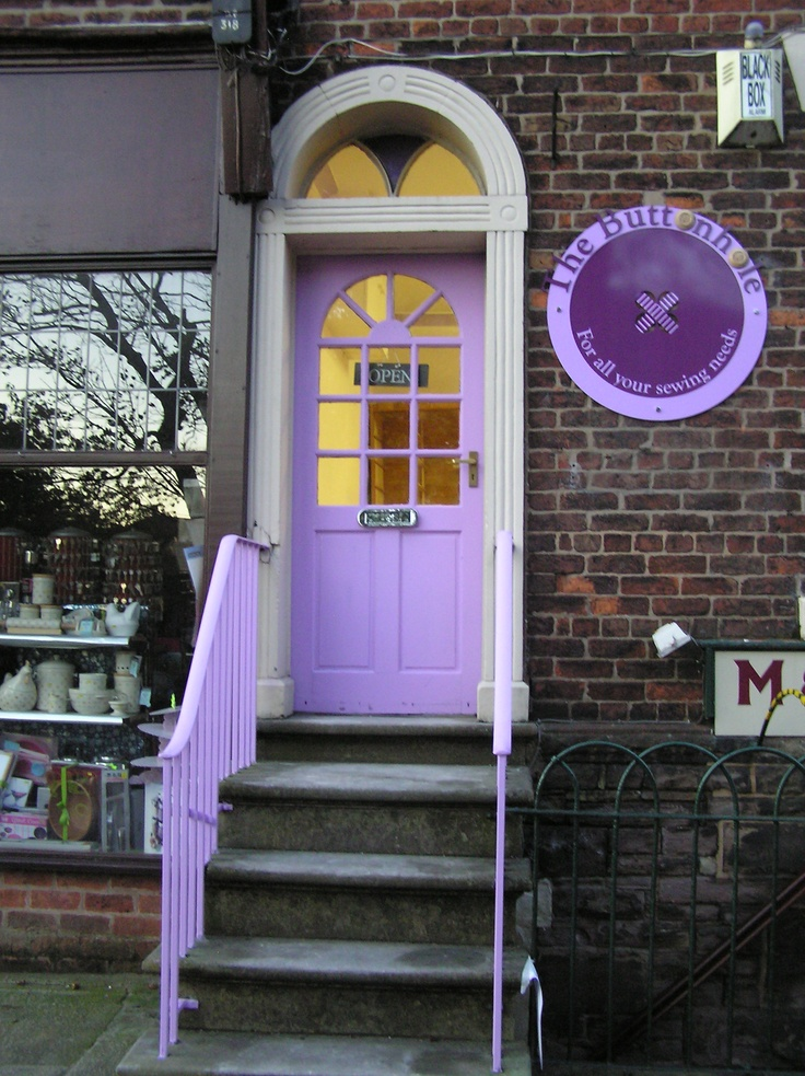 The entrance to my shop on Chapel Street, Chorley. Come visit us.
