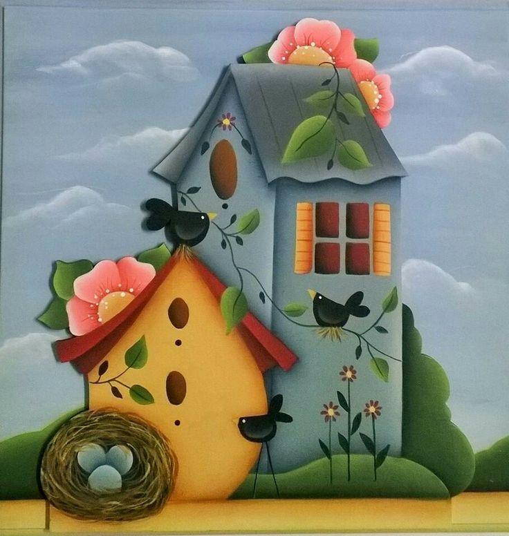 Casa de pájaros 32