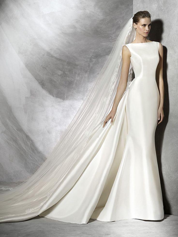 Bateau Neckline Wedding Dresses