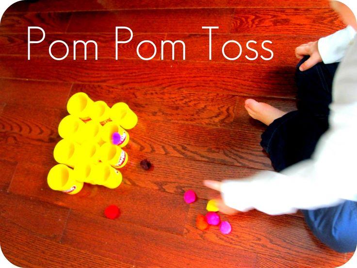 Toddler Approved!: Pom Pom Toss