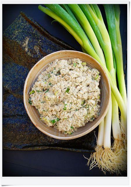 """My Vegan Kitchen: Wegańska pasta """"rybna"""""""