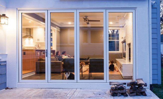 glasfalttüren-terrasse-wärmeschutzglas-wärmedämmung-komfortverriegelung-sicherheit