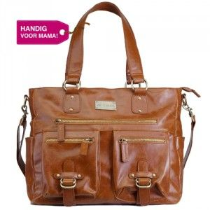 """The Dutch Blog """"Handig voor Mama!"""" mentioned the Kelly Moore Libby in caramel."""
