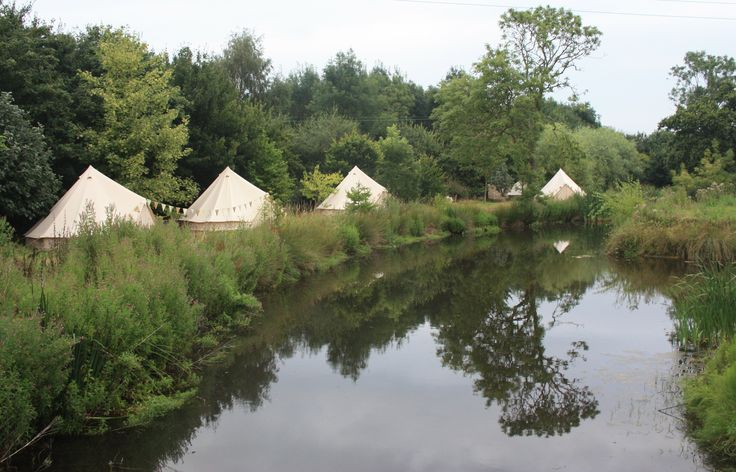 Glamping at Kenton Hall Estate, perfect accommodation for weddings and hen parties! When we say glamping we mean it!