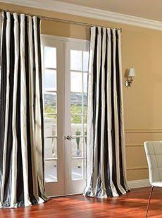Designer curtains: Pattern Faux Silk Curtains | Sh…