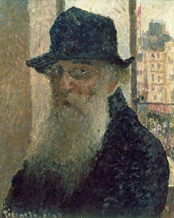 Camille Pissarro (French, 1830-1903),Self-Portrait, 1903. Oil on canvas, 41 x 33 cm.