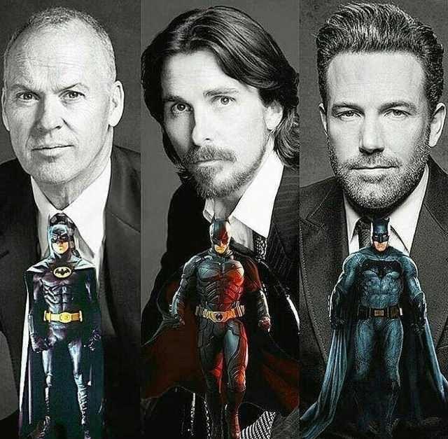 Michael Keaton, Christian Bale and Ben Affleck played Batman in live action  movies via @thebatbrand from @instagram | Batman poster, Batman artwork,  Batman comics