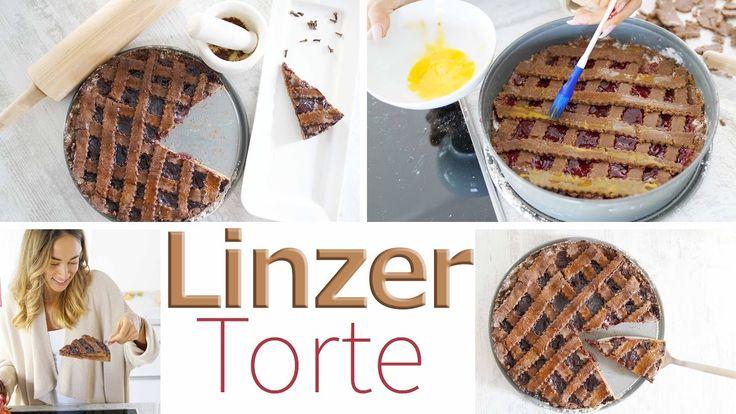 Linzer Torte Rezept - Gesunde Version - Einfach und kalorienbewusst Backen
