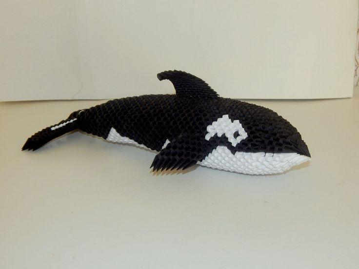 Pingl par bonamy sur animaux papier pinterest origami paulards et montres - Animaux origami 3d ...