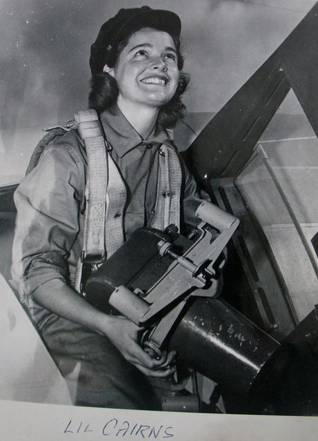 Lil Cairns, member of the RCAF Women's Division, at RCAF Centralia, Ontario, probably in 1943 or 1944. For more: www.elinorflorence.com/blog/rcaf-women-photographer