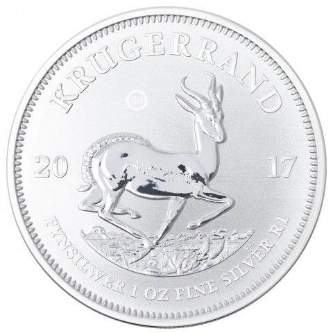 2017 1 OZ SOUTH AFRICA KRUGERRAND 999 SILVER COIN PU. #LPM #LuciusPreciousMetals #Coins   #HongKong #Retailers #Silver