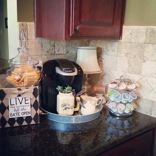 25 Best Ideas About Keurig Station On Pinterest Coffee