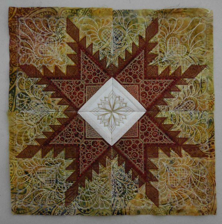 Star Quilt Embroidery Design : 17 Best images about Feathered Star Quilt Hoop Sisters on ...