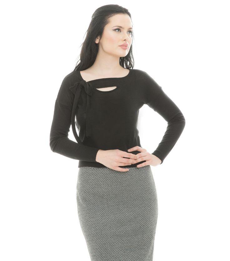 Karaca Bayan Triko Kazak - Siyah