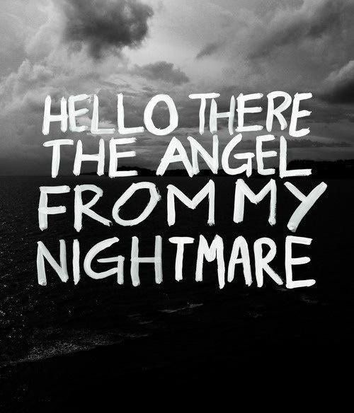 Blink 182   I Miss You   Hello there the angel from my nightmare..   music   lyrics>>>>>>>>I just didn't know where to place this pin....it reminds me so much of fetus 5sos, breakups and all that stuff. this song manages to break my heart every single time i listen to it and tonight...it hurts more than ever