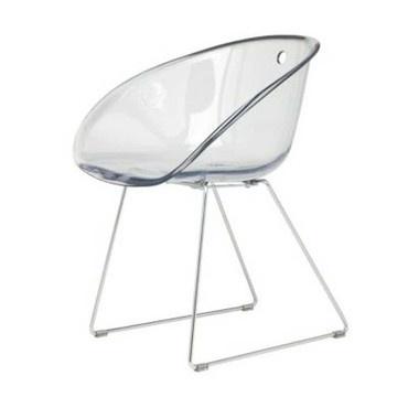 Une chaise aux formes arrondies qui nous replonge dans les années 50!  #chaise #design #déco