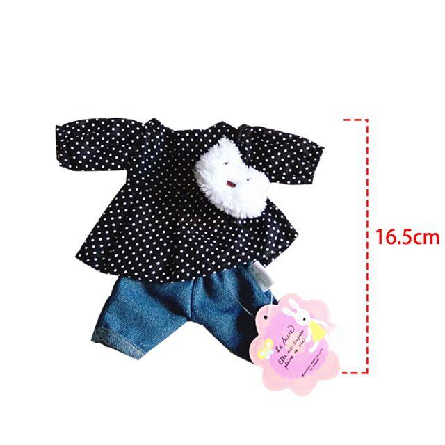 30 cm Ropa de la Muñeca Vestido de Conejito Conejo Gato Juguetes de Peluche Suave falda Suéter de Jugar a las Casitas de Muñecas Accesorios para 1/6 BJD Muñeca Regalos