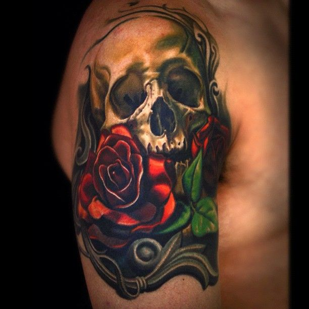 62 best images about tattoo on pinterest moon phase for Cool rose tattoos