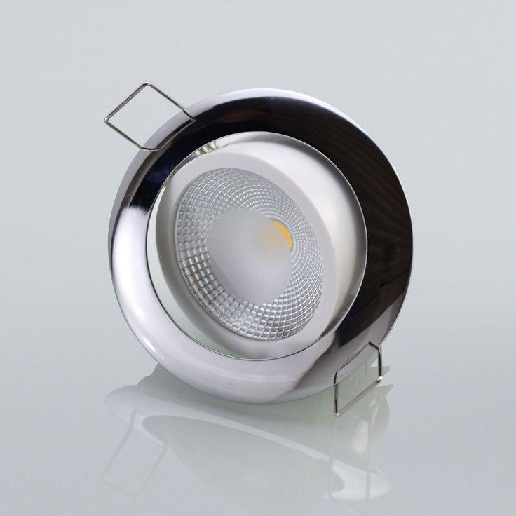 Fresh LED Einbaustrahler Einbauspot W Exklusive Lampe Strahler Einbaustiefe mm in Heimwerker Lampen u Licht