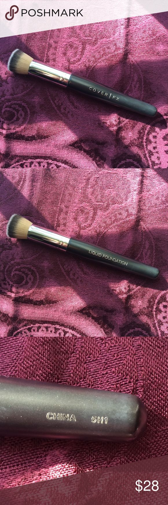 Cover FX Liquid Foundation Brush Cover fx, Cover fx