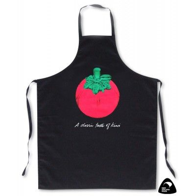 Apron A Classic Taste of Kiwi.A quality 100% cotton drill apron featuring the iconic plastic tomato shaped sauce dispenser found on New Zealand tables and at barbeques all over the country. For the real 'Kiwi' barbeque experience, have your plastic tomato ready and filled with Wattie's Tomato Sauce. This apron is genuinely made in New Zealand. Stunning in the kitchen or while cooking a Kiwi style summer barbeque. Made in New Zealand.   See more at www.entirelynz.co.nz/gifts