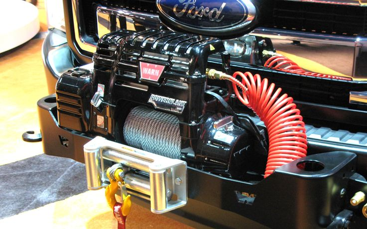 2011 Ford Super Duty Dewalt Contractor Concept Winch Jpg