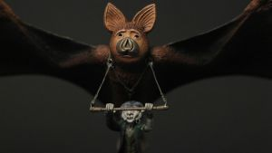Nighthob  Stupid Bat The Neverending Story by yotaro-sculpts