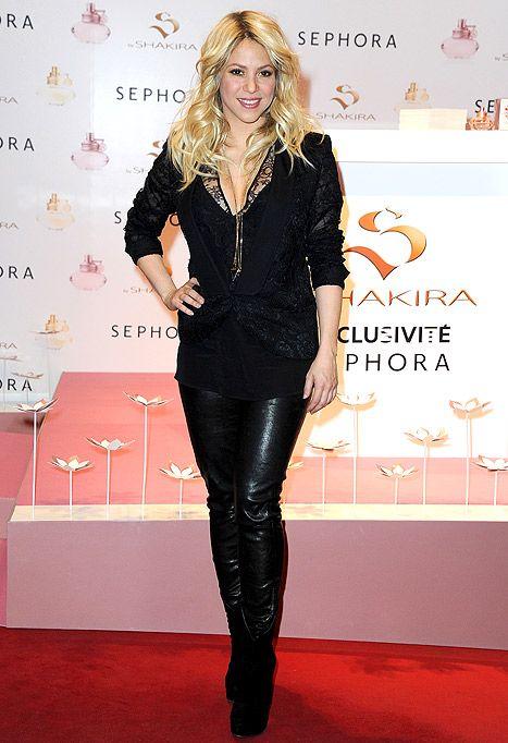 Shakira's hips don't lie! Still one hot mama! (WireImage) [http://www.celebrific.com/26811/10-hottest-latino-stars/]