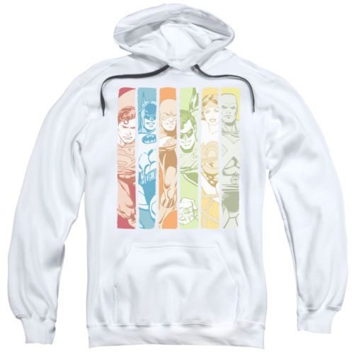 Sweatshirts and Hoodies 155200: Dc Justice League Columns Pullover Hoodies For Men Or Kids -> BUY IT NOW ONLY: $32.99 on eBay!