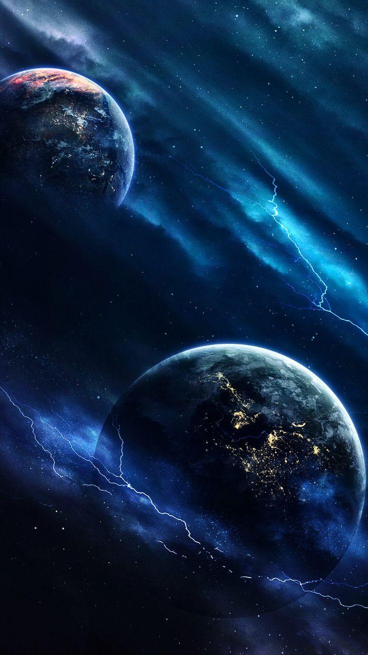 Картинки космос вселенная планеты фэнтези