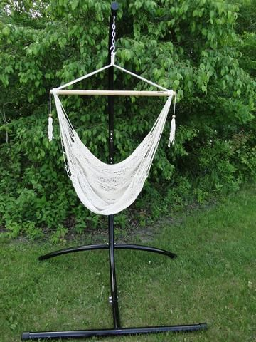 Ordinaire Mayan Hammock Chair With Universal Chair Stand