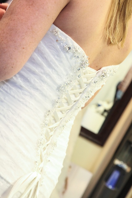 lace corset up back