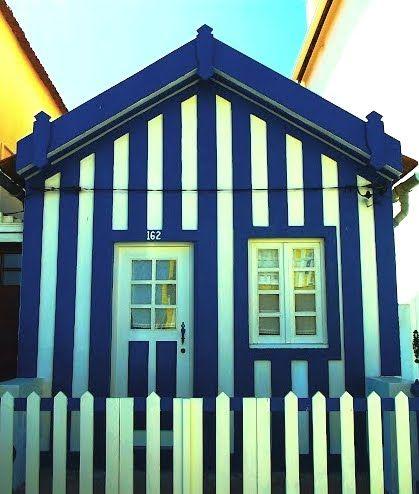 striped beach house