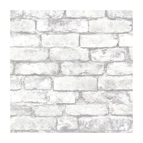 Shop Provincial Wallcoverings 2604-21261 Brickwork Light Grey Exposed Brick Effect Wallpaper at Lowe's Canada. Find our selection of wallpaper & wallpaper supplies at the lowest price guaranteed with price match + 10% off.