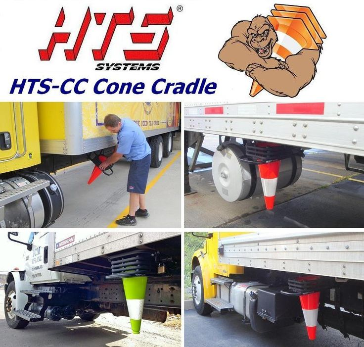HTSCC Cone Cradle traffic safety cone deployment system