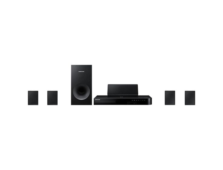 Samsung 500 W 5.1 Ch Blu-ray Home Entertainment System J4500K 500 W Bluetooth connectivity 3D Blu-ray FREE delivery anywhere in South Africa https://www.thtshopping.com/product-page/samsung-500-w-5-1-ch-blu-ray-home-entertainment-system-j4500k