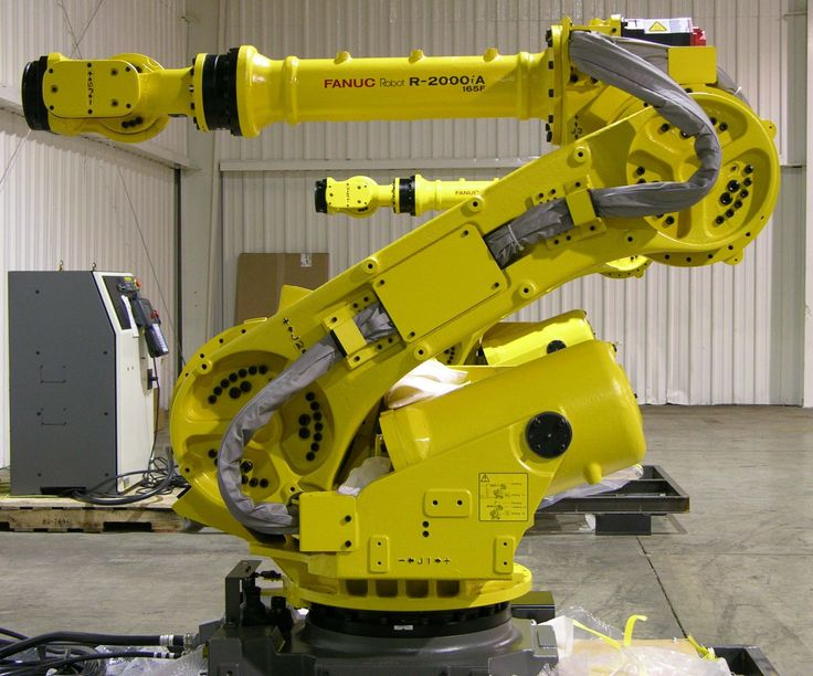 Six-axis industrial robot arm