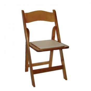 RUSTIC TIMBER FOLDING CHAIRS. With its comfortable padded seat and honey timber frame, the Timber Chair is a great all purpose folding chair. Hire details: http://www.youreventsolution.com.au/YESStore/products_detail.php?ProductID=35 #WeddingHire #YourEventSolution