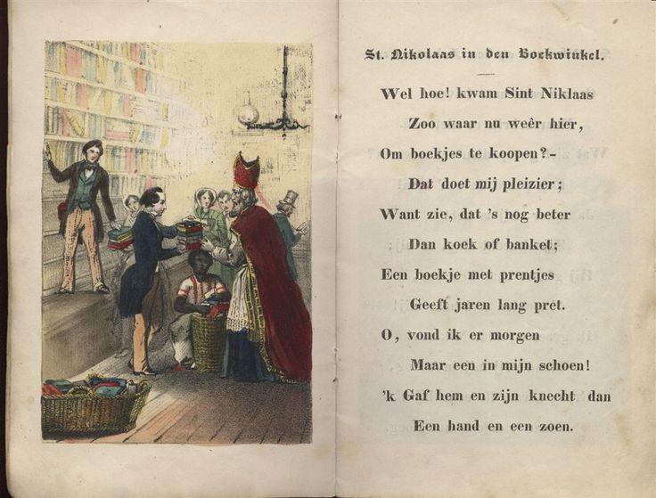 St. Nicolaas en zijn knecht (1850)