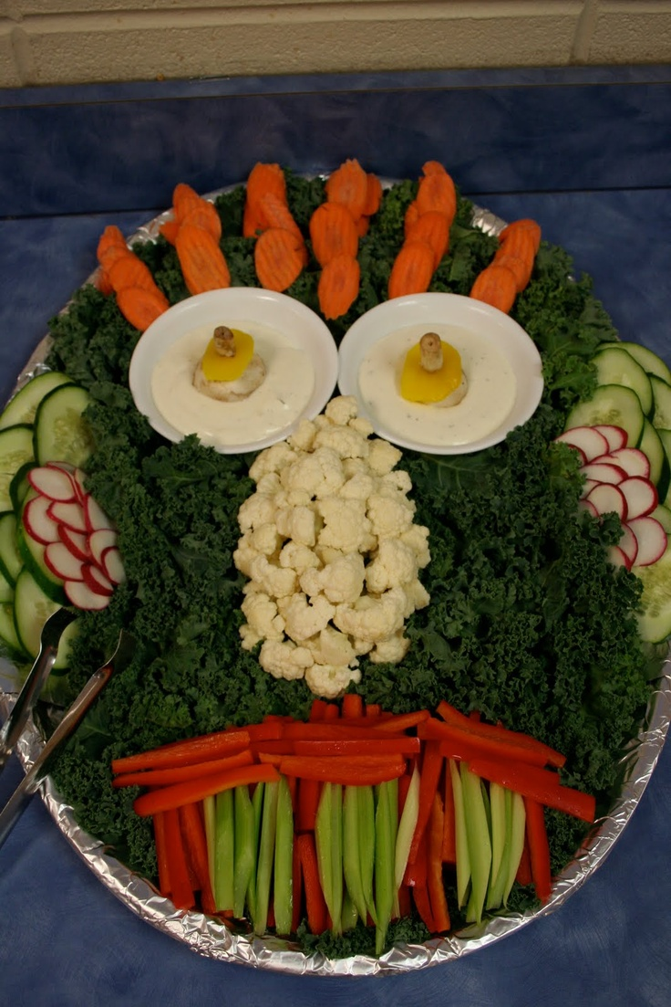 how to make a vegetable tray for a party