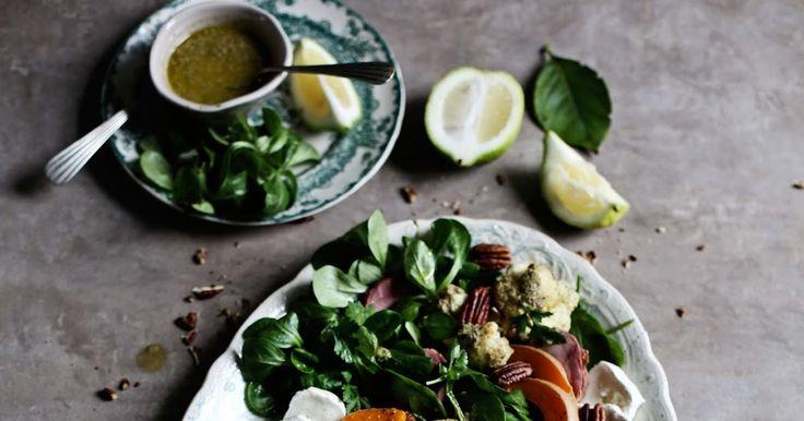 Pratos e Travessas: Uma saborosa salada de Inverno # A tasty Winter salad | Food, photography and stories