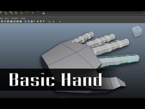 Modeling a Character in Maya - part 6 of 10
