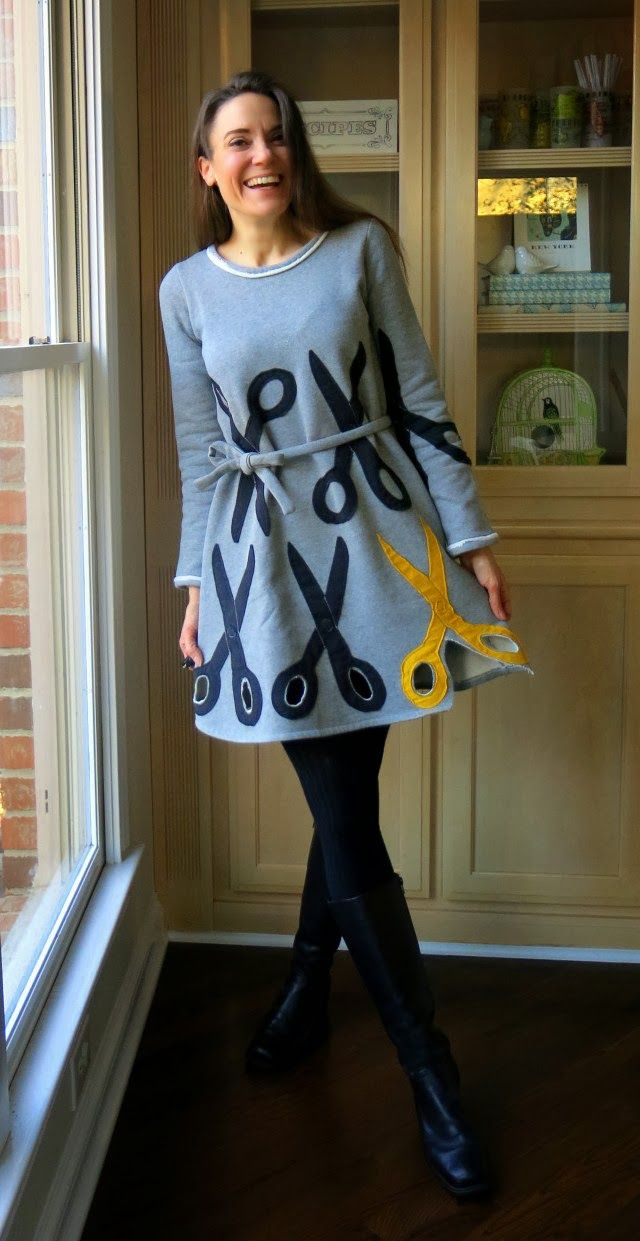 Cassie Stephens: What the Art Teacher Wore #87 - I want to make this, but turn the yellow pair the other direction.