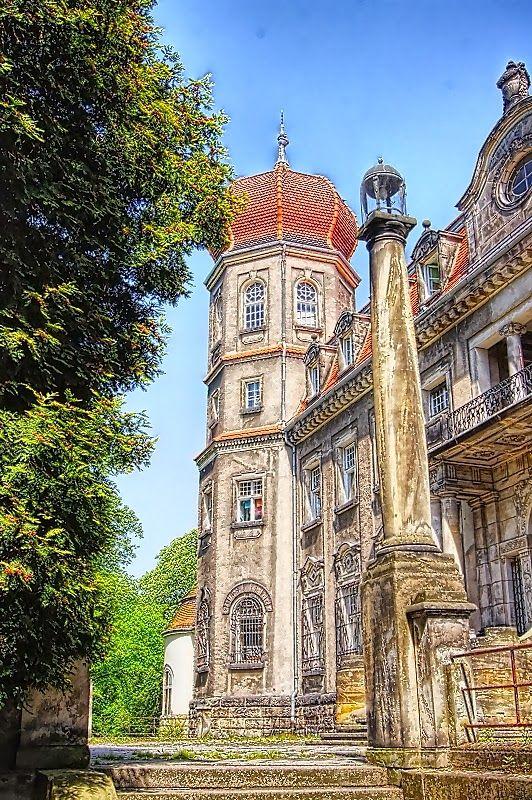 Pałac w Brynku - woj. Śląskie