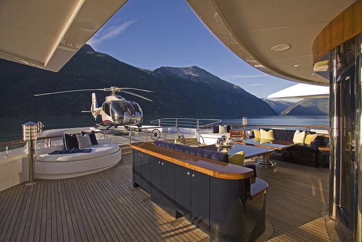 Inside A Billionaire 39 S Yacht Luxury Boats Water