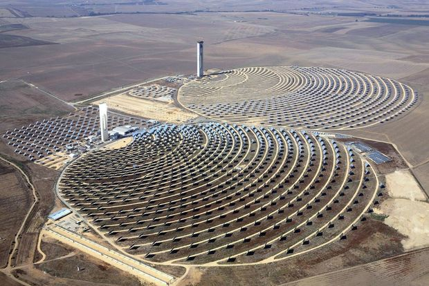 Noor concentrated solar power